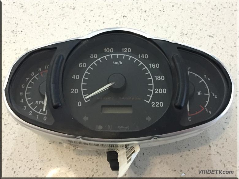 for sale 2003 vrod insturment cluster. gauges