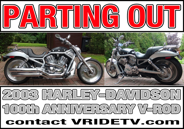 2003 VROD parts for sale
