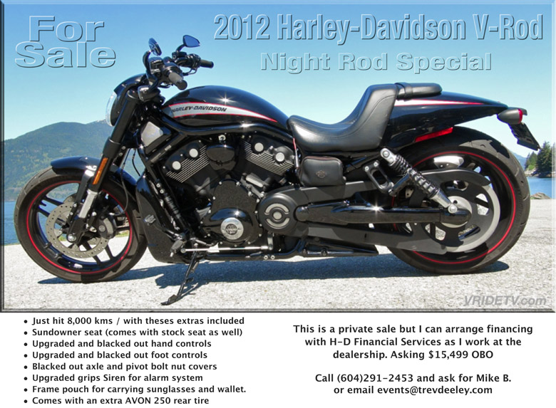 2012 Harley-Davidson V-Rod Night Rod Special for sale