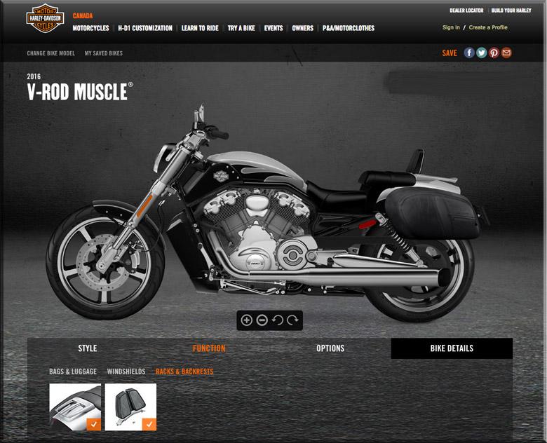 2016 Harley Davidson Vrod Muscle silver