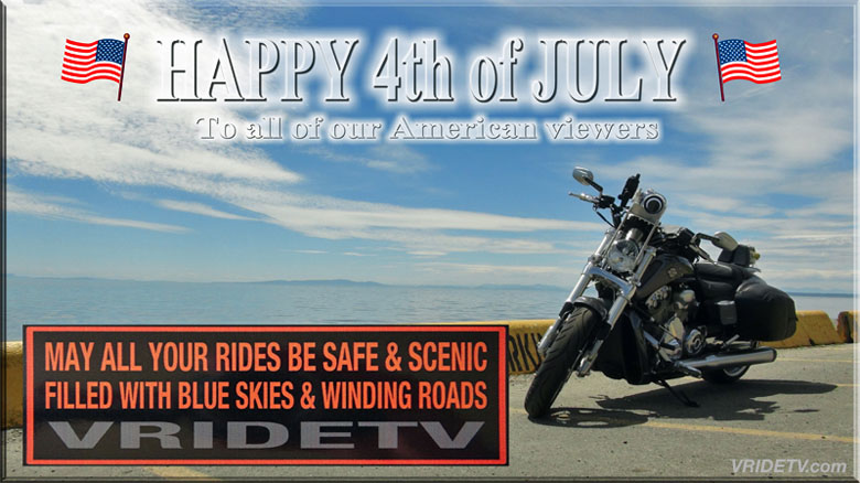july 4th harley davidson vrod