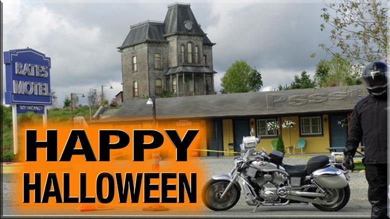 Halloween at the Bates Motel