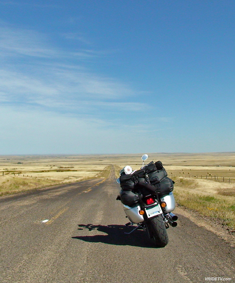 Motorcycle touring in Saskatchewan, Canada. vridetv.com Virtual Riding TV
