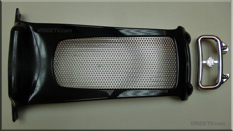 SE chin spoiler radiator cover VROD