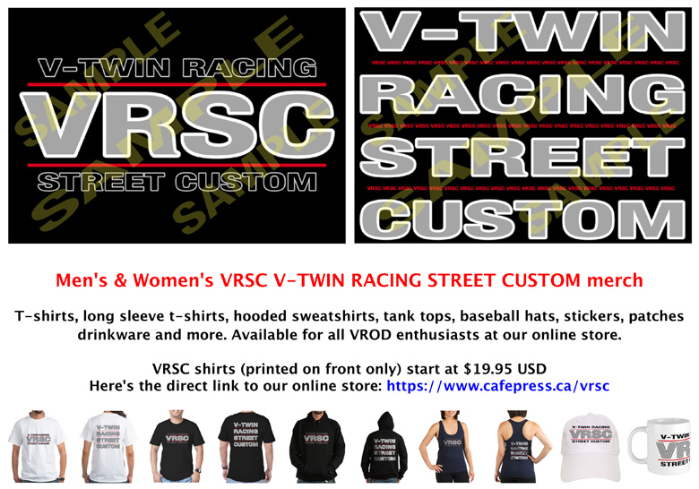 VROD clothing and merch