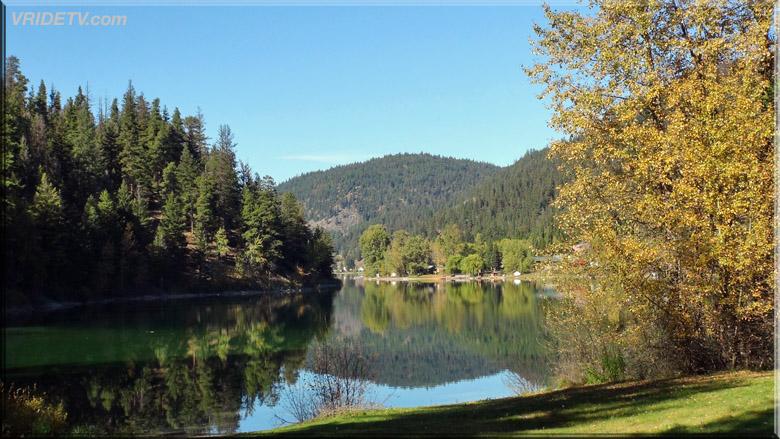 allison lake in fall