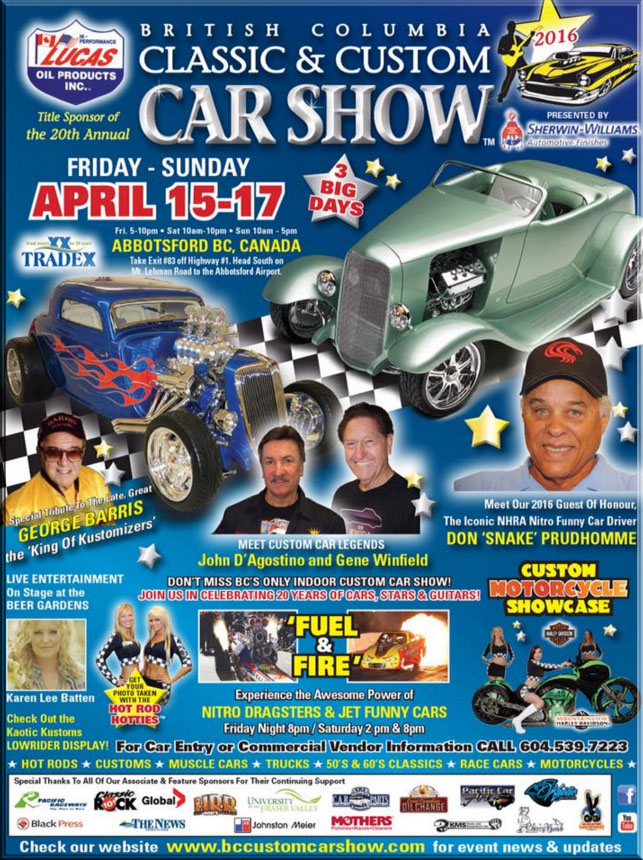 british columbia classic and custom car show