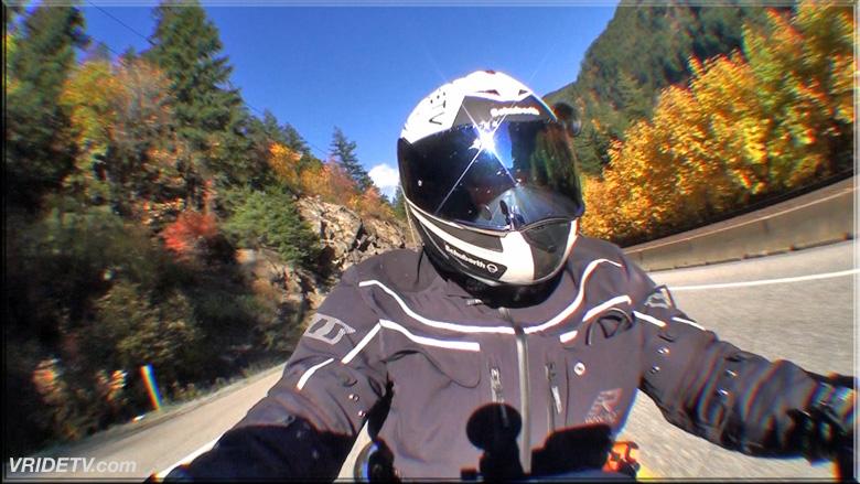 biker selfie cam
