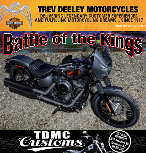 Harley Davidson battle of the kings
