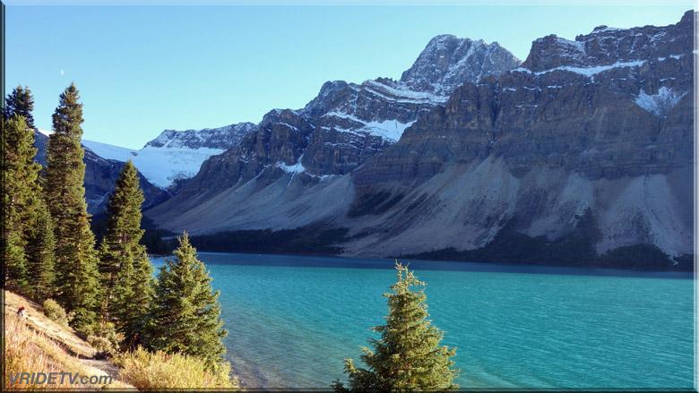 Bow Lake Mountains