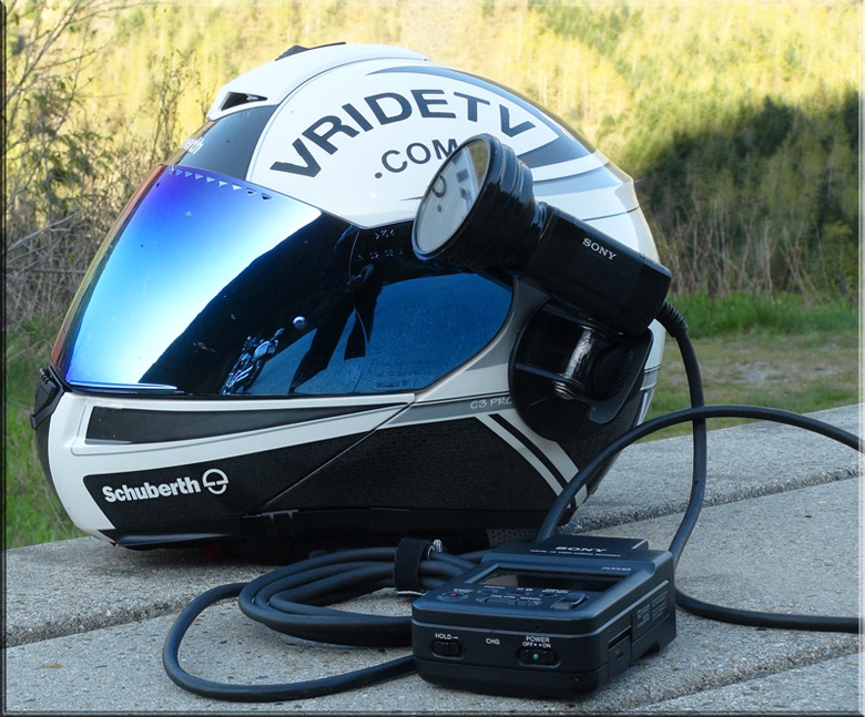 Schuberth C3PRO SRC and Action camera