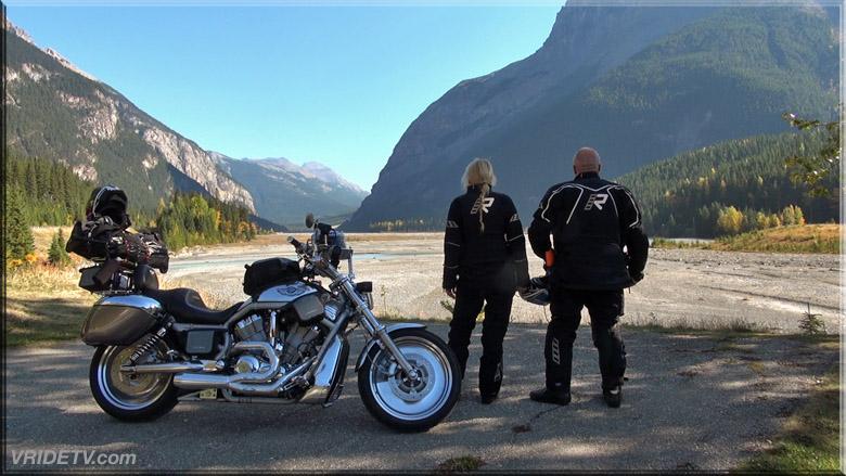 motorcycle riders in the rockies