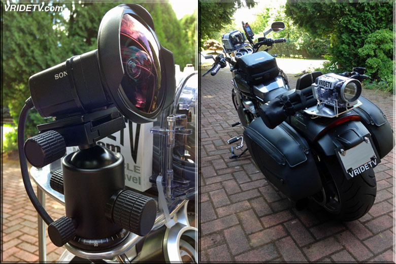 camera mounts for motorcycle
