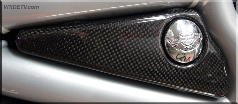 carbon fiber vrod fuel cell side cover
