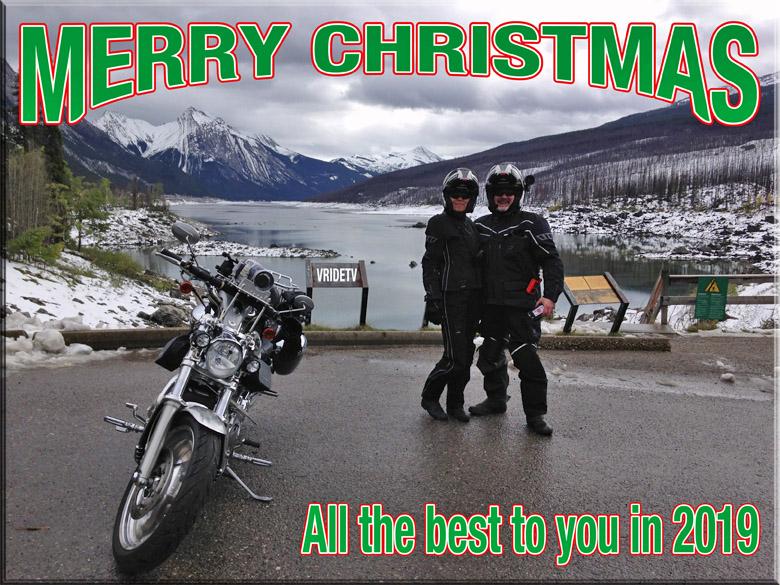 christmas bikers