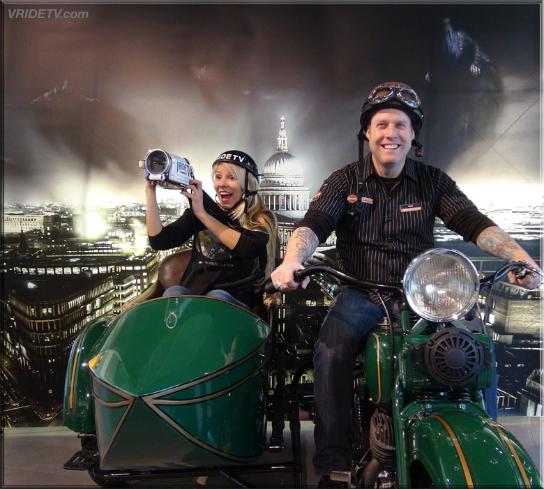 motorcycle sidecar at deeley museum