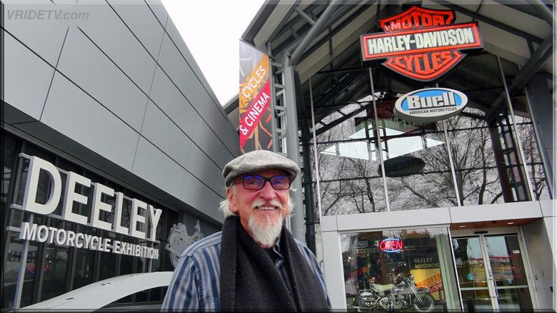 Terry Rea Deeley Motorcycle Exhibition Historian