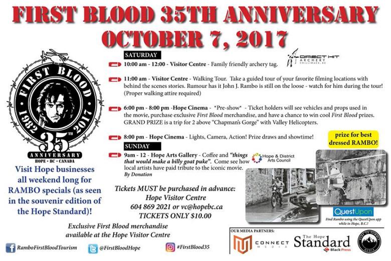 Firstblood 35th anniversary