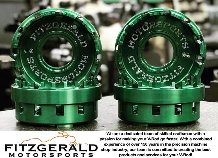 Fitzgerald Motorsports Vrod clutch basket