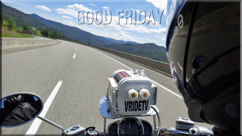Good Friday motorcycle ride