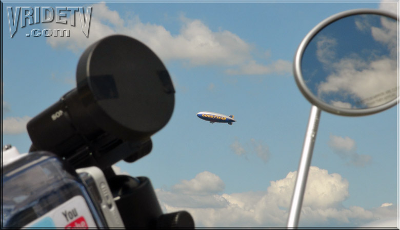 GoodYear Blimp in Abbotsford British Columbia Canada