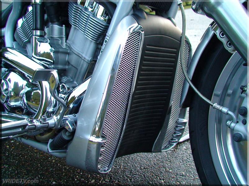 GhostRider Customs Precision Cut Grills for V-Rod radiator ...