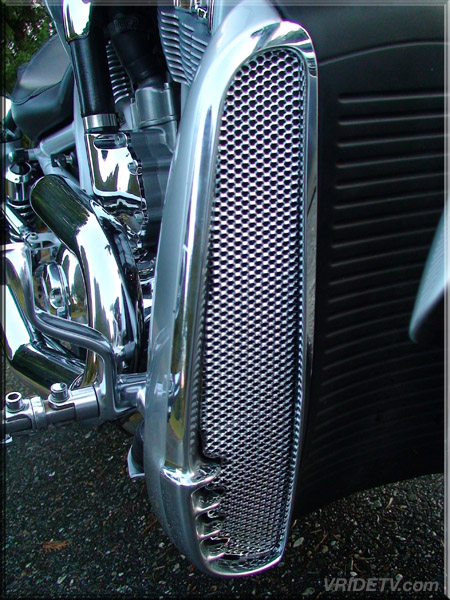 Ghostrider Customs Precision Cut Grills For V Rod Radiator