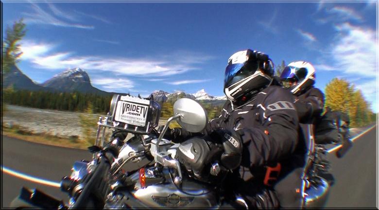 Harley Davidson motorcycle trip