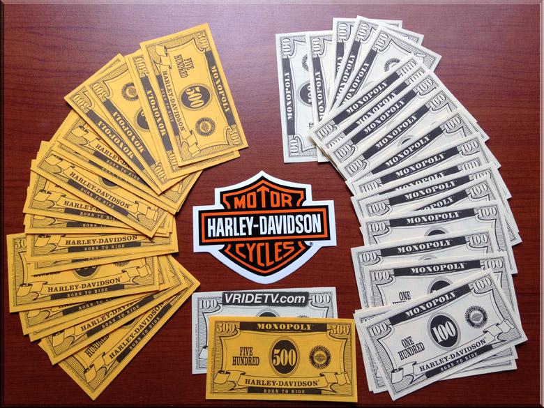 Harley Davidson money