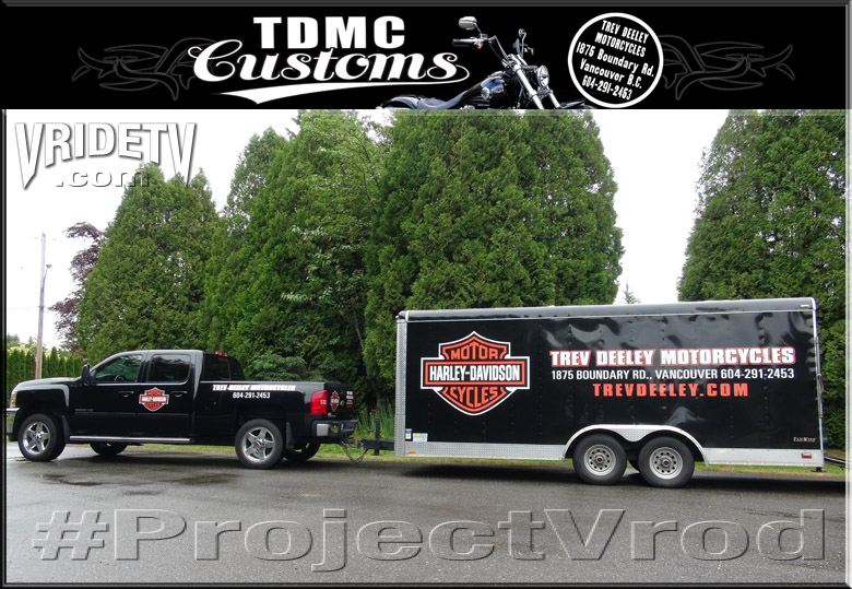 trev deeley motorcycles truck and trailer