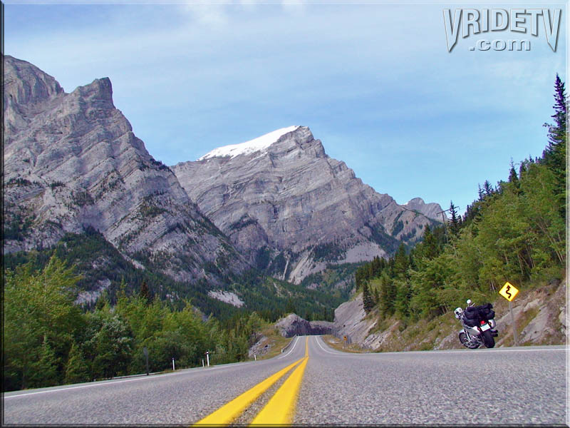 Motorcycle touring and travel Canada
