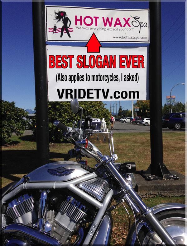 Hot Wax Spa and Harley Davidson Vrod