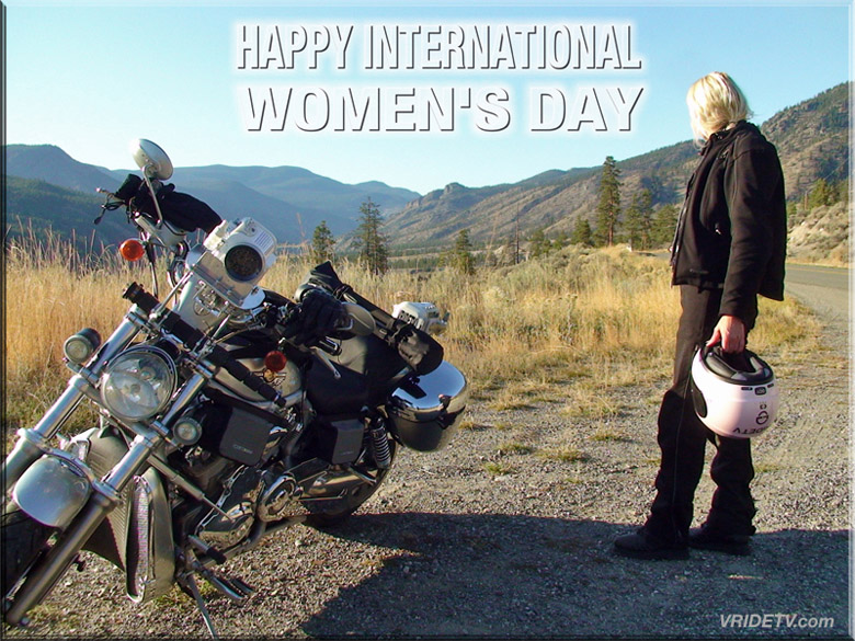 Happy International Women's Day to all the women of the world : )