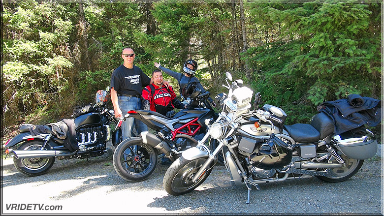 motorcycle riding with friends