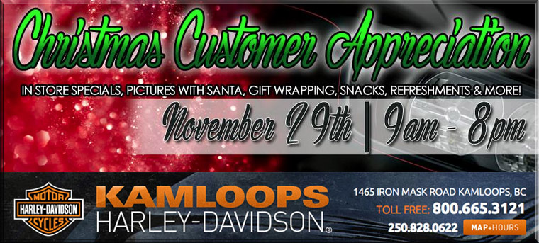 Kamloops Harley Davidson Christmas Customer Appreciation Party