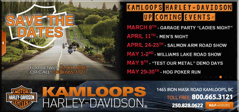 kamloops harley davidson events