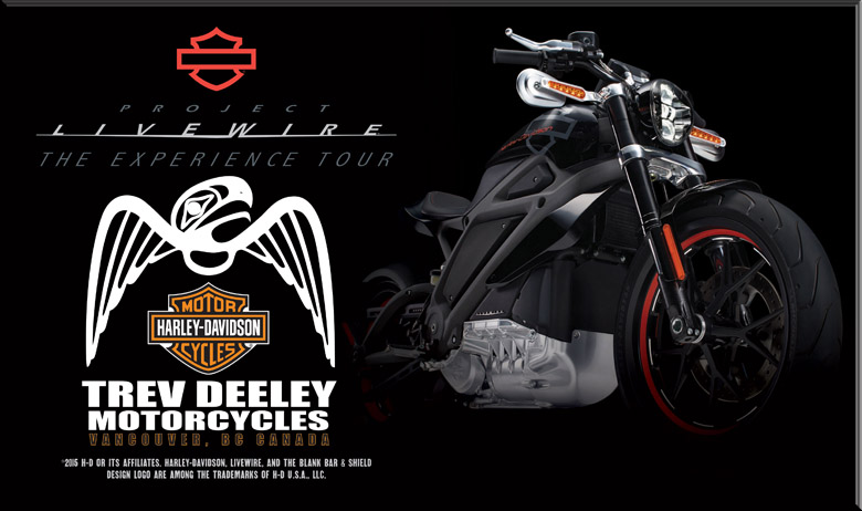 Trev Deeley Motorcycle Livewire