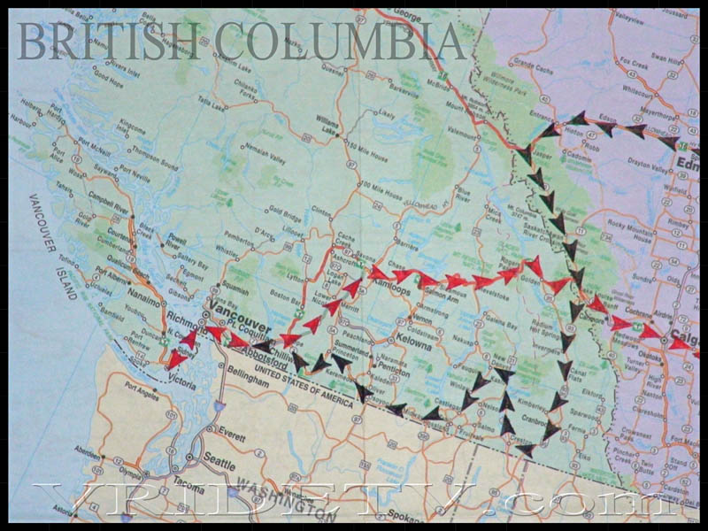 Motorcycle Trip: Map of route taken in British Columbia-Alberta on on road map of estonia, map of ontario canada, road map of vancouver bc, road map of quebec canada, road map bc canada, detailed map of newfoundland canada, road map alberta british columbia, map of us and canada, mount columbia canada, road map of india, road map uk united kingdom, road map of washington state, road map of new zealand, road map of newfoundland canada, road maps western canada, road map of usa and canada, road map of toronto canada, road map of saskatchewan and alberta, road map british columbia bc, road map of labrador canada,