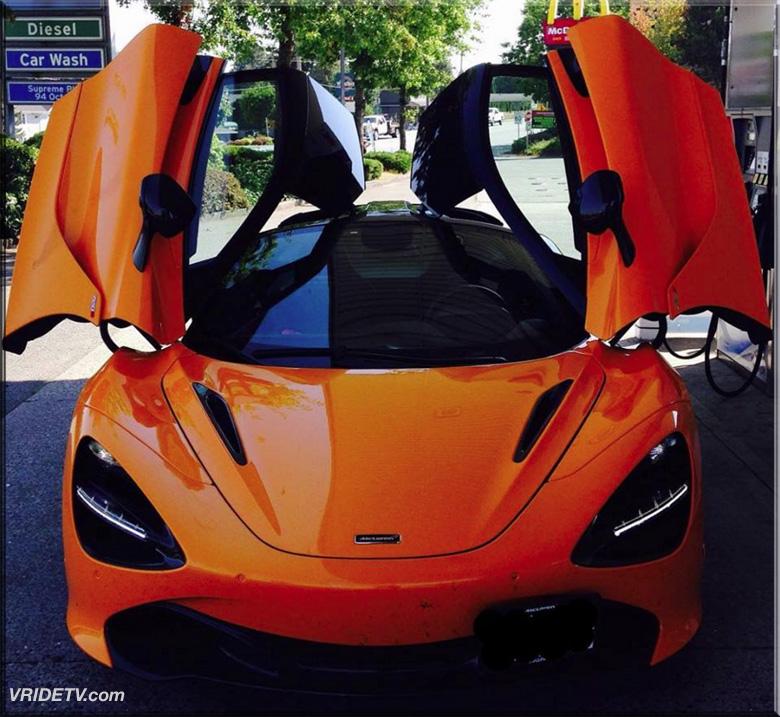 McLaren 720s on VRIDETVcom
