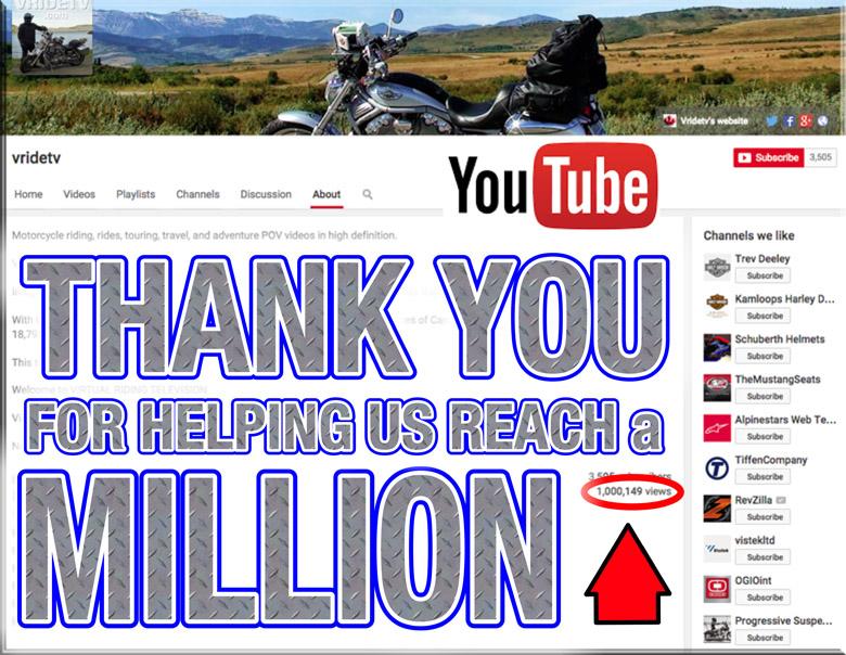million youtube views