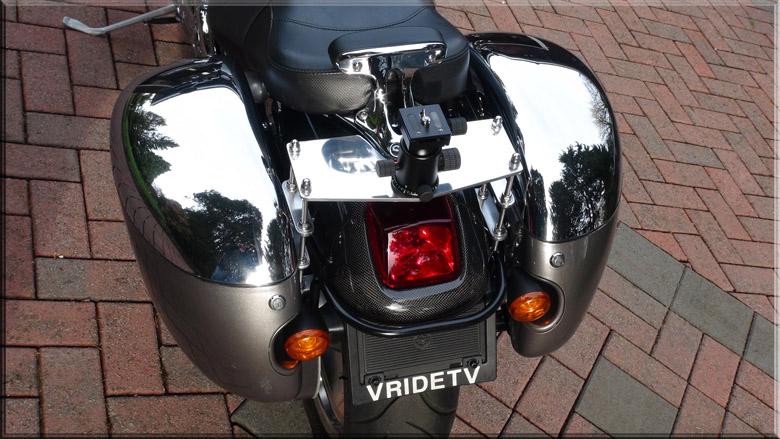 motorbike tailcam mount