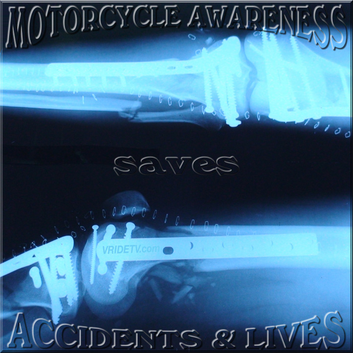 May is Motorcycle Awareness month.