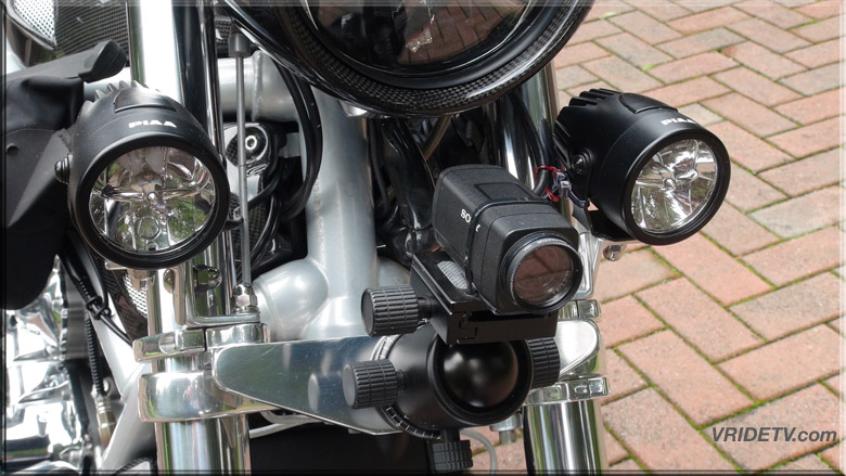 Motorcycle camera mount STEADY
