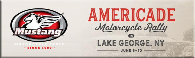 Mustang Seats at Americade Motorcycle Rally