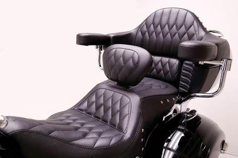 indian roadmaster mustang seats
