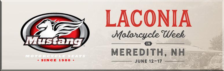 mustang seats at meredith motorcycle rally