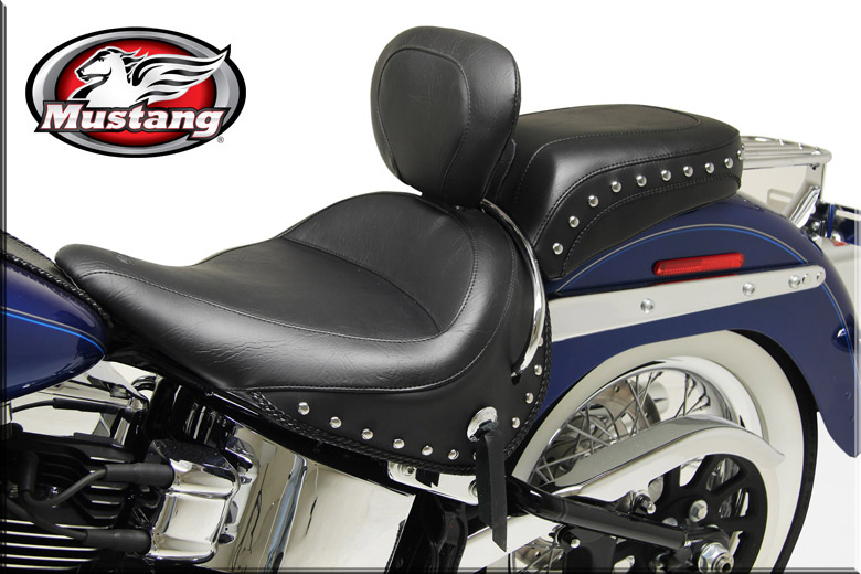 mustang seats for harley davidson softtail