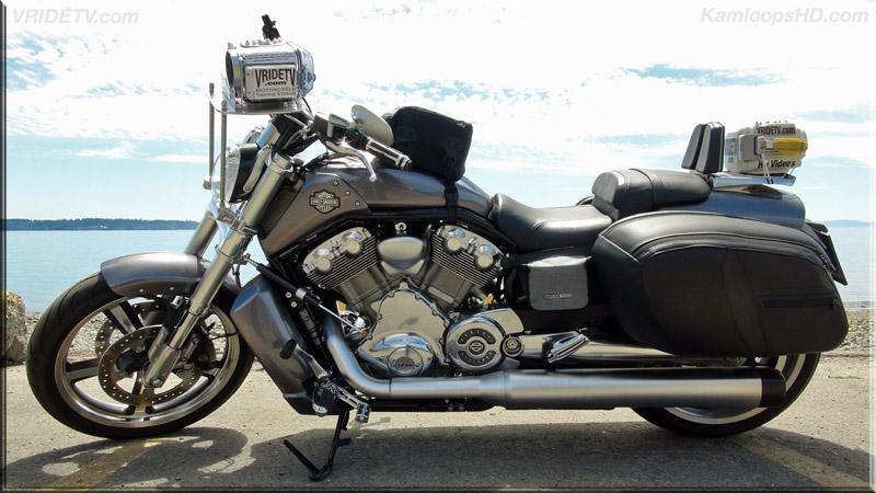 2014 Harley Davidson VRSCF Vrod Muscle with saddlebags