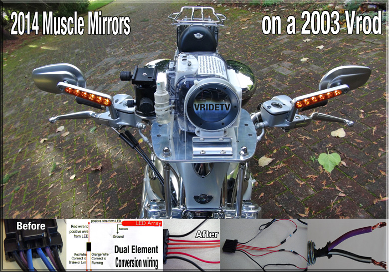 Vrod Muscle mirrors wiring VRIDETVcom