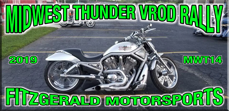 Midwest thunder vrod rally 2019 at Fitzgerald motorsports